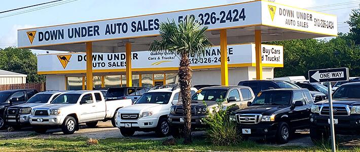 Used Cars Austin Tx >> Down Under Auto Sales Homepage Used Car Dealership